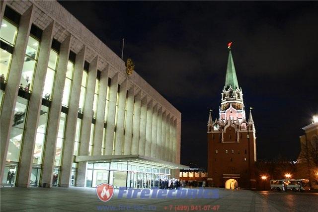 Противопожарные шторы FireTechnics для Кремлевского Дворца Съездов