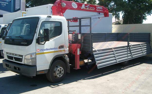 Доставка противопожарных систем FireTechnics