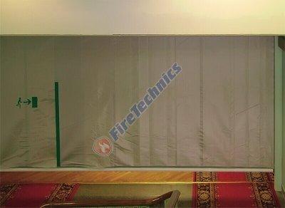 Экономичные противопожарные шторы FireShield-EI120