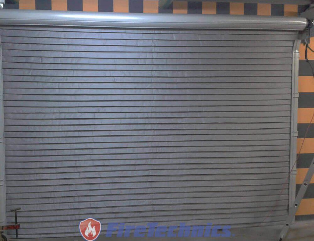 Автоматические Рулонные противопожарные ворота EI60
