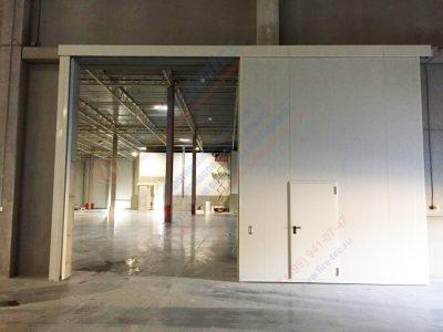 Откатные Противопожарные ворота FireTechnics-P EI60